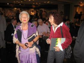 Hanna M. Eshel and Friend
