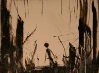 Alone V. (1990)   Oil on Canvas   60 x 70cm