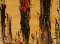 NYC Nr. I. (2001) | Oil on Canvas | 90 x 70 cm