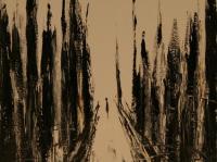 Alone in N.Y. I. (1993)   Oil on Canvas   70 x 50 cm