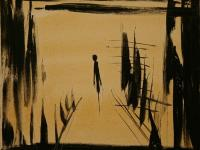 Alone VII (1994)   Oil on Canvas   50 x 60 cm