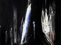 Alone in the Dark (1990) | Acryl on Canvas | 45 x 38 cm