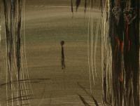 Alone VI. (1994)   Acryl on Canvas   60 x 50 cm