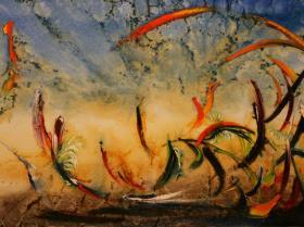 Summer (1992) | Oil on Canvas | 80 x 115 cm