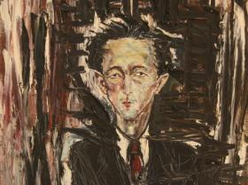 Man (1956) | Oil on Canvas | 92 x 74 cm