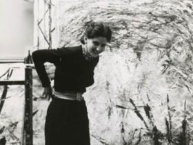 Soshana in her studio | Paris 1956