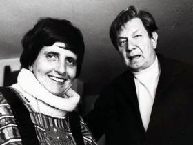 Soshana and Mathias Goeritz| Mexico 1981