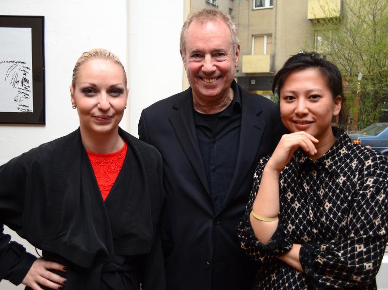 Silke Grabinger, Amos Schueller and Hoa Luo