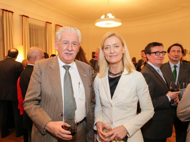 Ambassador of Mexico Alfons Diaz & Dr. Johanna Rachinger