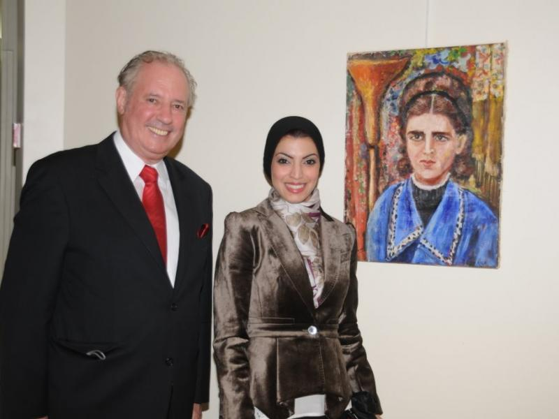 Amos Schueller & Areej Rajab