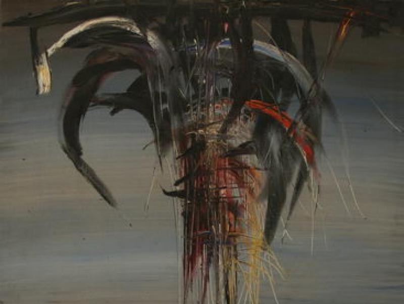 Destiny IX (1964) | Oil on Canvas | 130 x 80 cm
