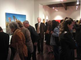 Guests at Exhibition