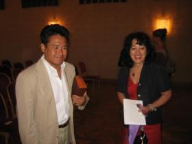 Mag. Takeru Kitazawa and Ruly Nemoto