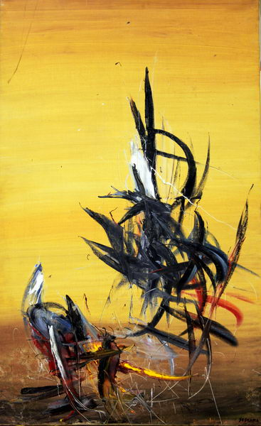 Without Title (1981) | Oil on Canvas | 80 x 130 cm