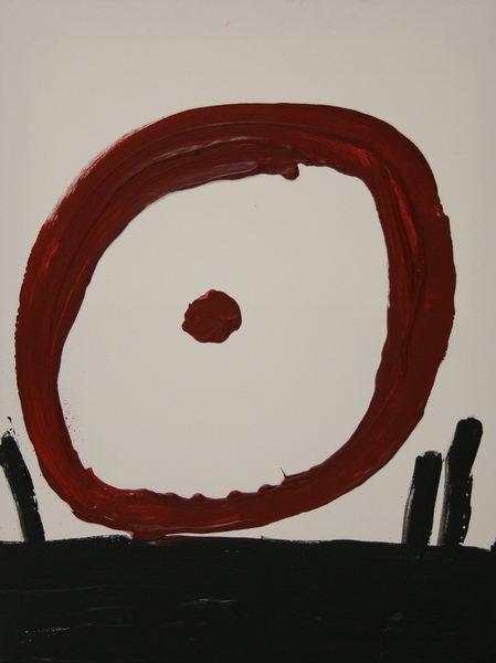 Spinning II. (2008)   Acryl on Canvas   80 x 60 cm