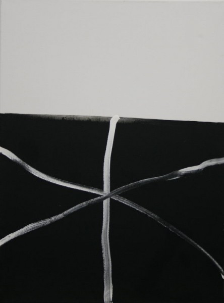 Criss- Cross IV. (2008) | Acryl on Canvas | 80 x 60 cm