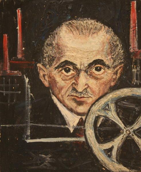 Old Man (1949)   Oil on Canvas   61 x 50 cm