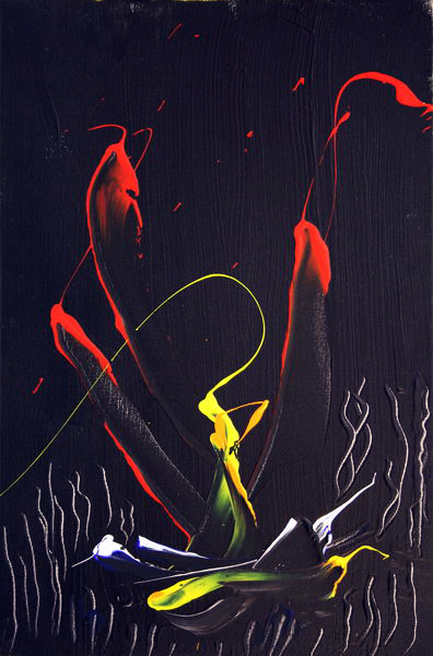 Without Title (2007) | Acryl on Canvas | 60 x 40 cm