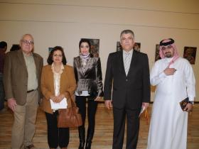 Guests, Areej Rajab, Dr. Khadem E. Rajab, Mishal K. Rajab