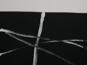 Criss- Cross V. (2008) | Acryl on Canvas | 80 x 60 cm