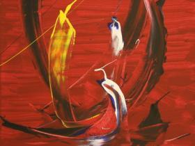 Life on Mars (2007) | Acryl on Canvas | 60 x 40 cm