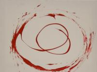 Spinning I. (2008) | Acryl on Canvas | 80 x 60 cm