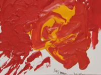 Amalgamation (2012) | Acryl on Canvas | 60cm x 40cm