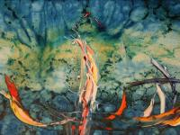 Atomic Explosion in the Pacific (1995) | Oil on Canvas | 65 x 100 cm