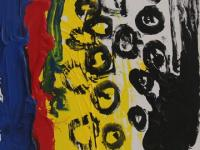 Without Title (2012) | Acryl on Canvas | 115cm x 70cm