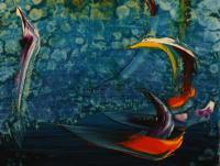Stormy Sea IV. (1990)   Acryl on Canvas   80 x 60 cm