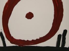 Spinning II. (2008) | Acryl on Canvas | 80 x 60 cm