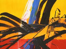 Explosion of Peace (2008) | Acryl on Canvas | 80 x 60 cm