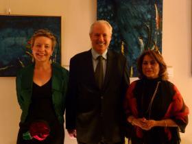 Prof. Dr. Martina Pippal, Amos Schueller, Cynthia Richards