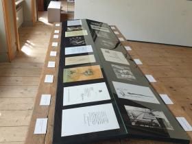 showcase at Centro Giacometti