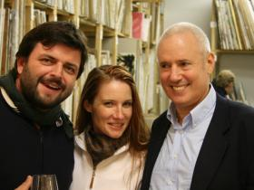 Igor Bararon & Ines Sommer with Amso Schueller
