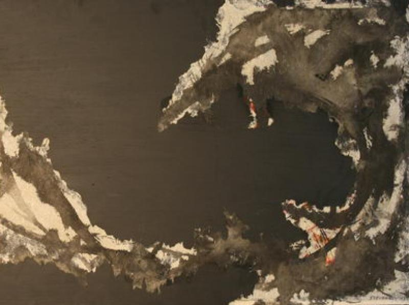 Without Title (1958) | Ink on Paper | 60 x 122 cm