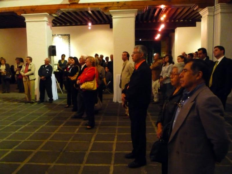 Guests attending opening speeches