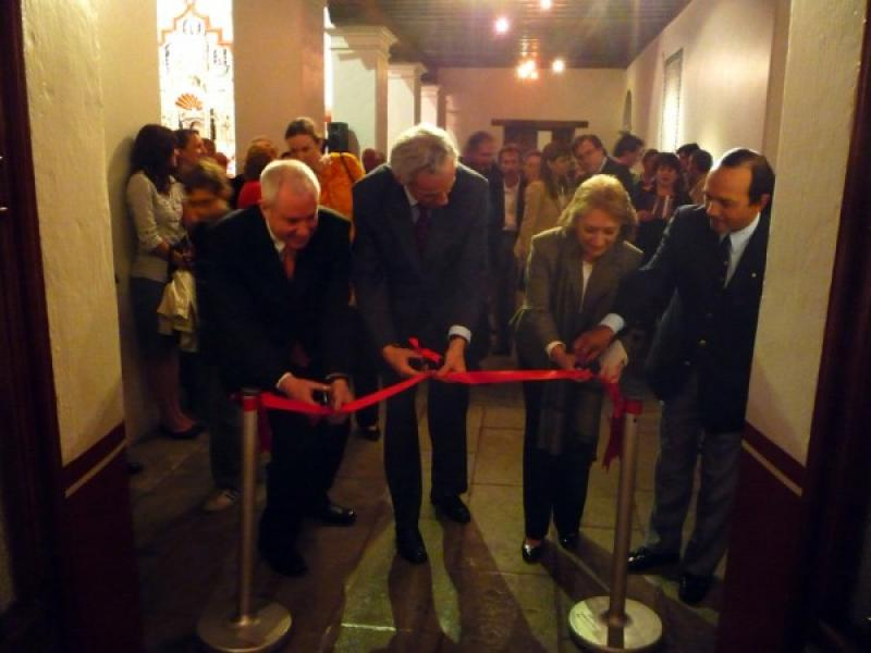 Cutting of Red Ribbon