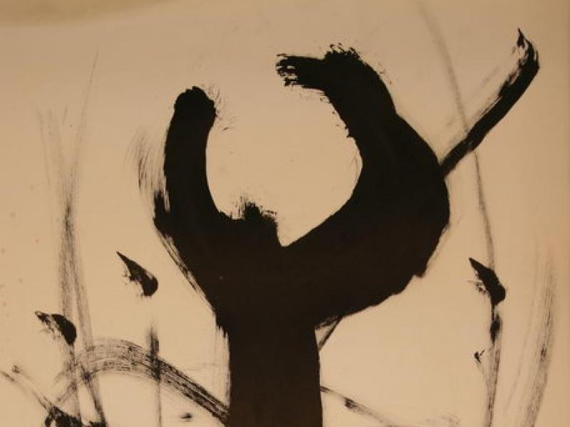 Without Title (1954)   Ink on Paper   64 x 49 cm