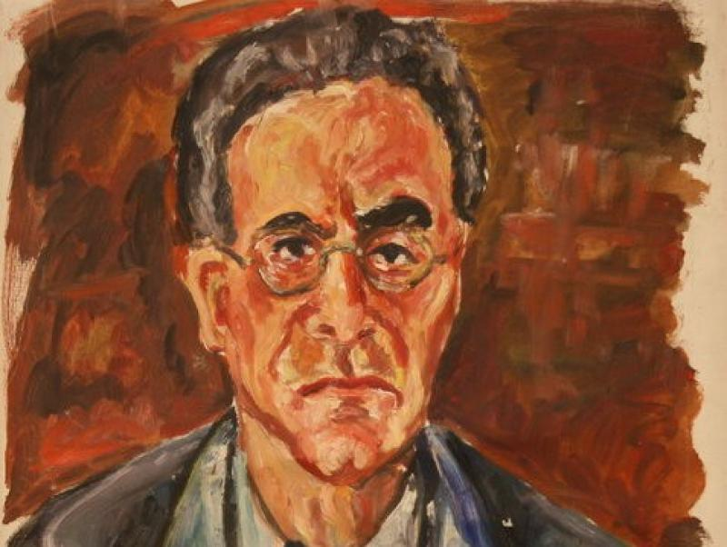 Otto Klemperer - Conductor (1945) | Oil on Canvas | 79 x 61 cm