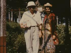Soshana and Dr. Albert Schweitzer| Lambaréné 1959