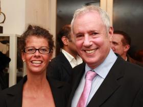 Johanna Hohloch and Amos Schueller