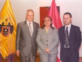 Amos Schueller - Monica Aurich - Christoph Reitinger - Austrian Embassy Lima