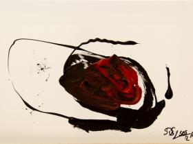 Without Title (2013) | Acryl on Canvas | 40cm x 60cm